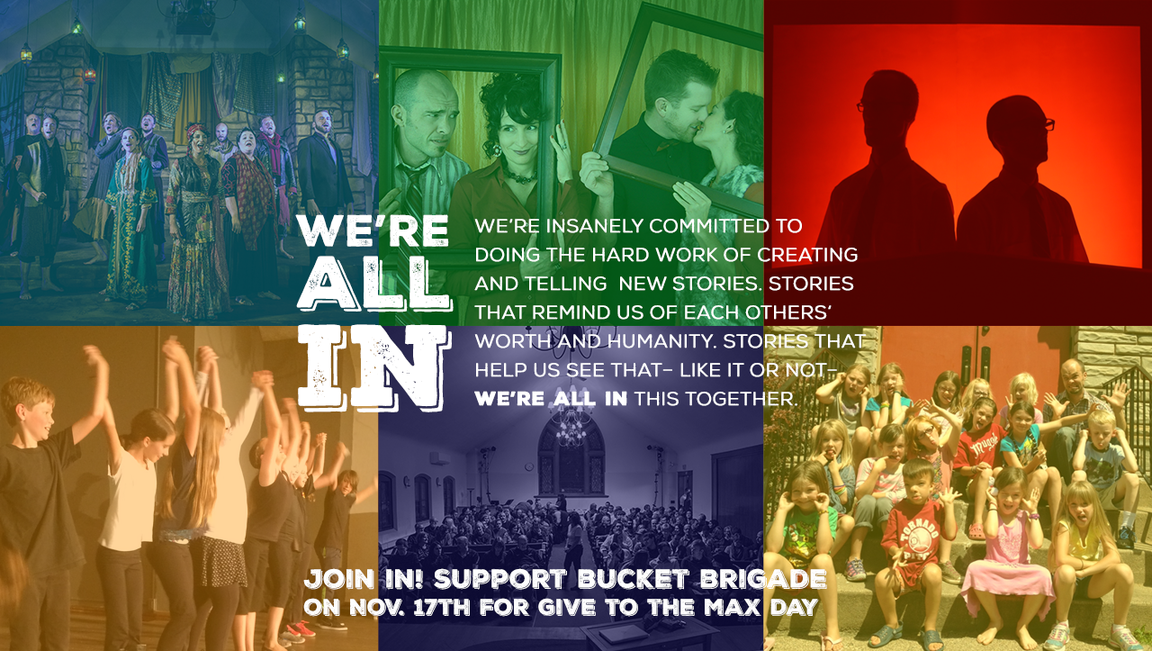Support art that reminds us WE'RE ALL IN THIS TOGETHER!